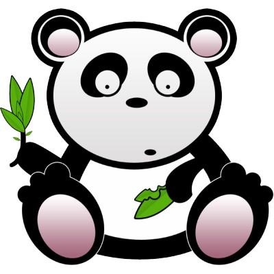 Panda clip art clipart