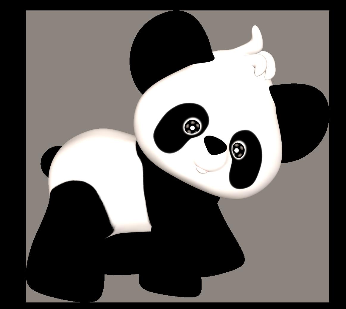 Panda clipart 3