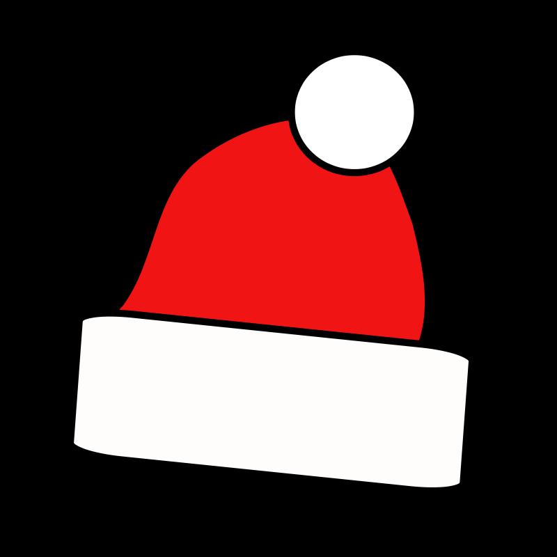 Santa hat clip art  3