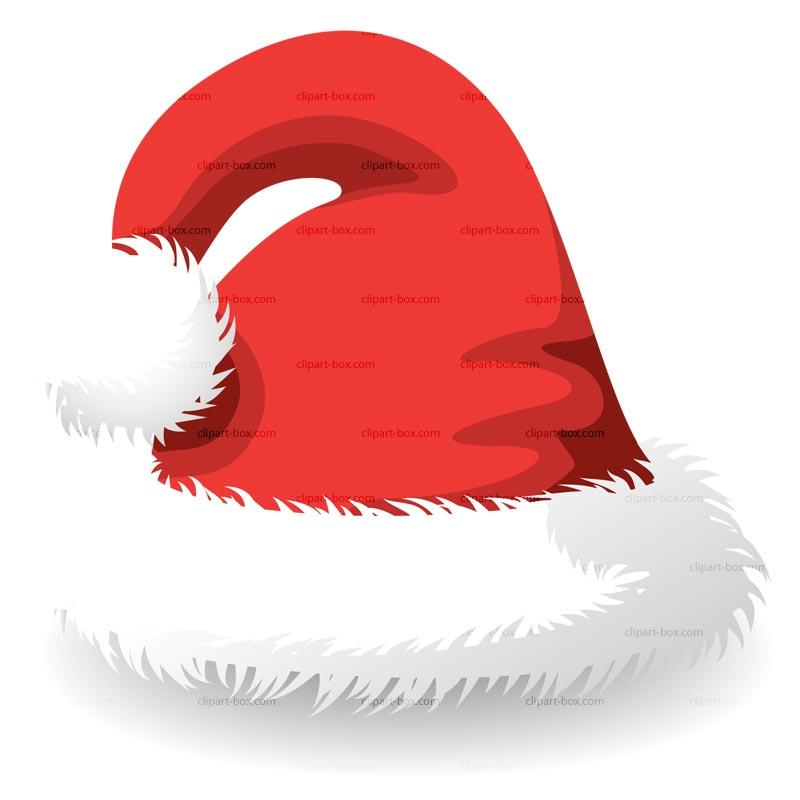 Santa hat clip art hats
