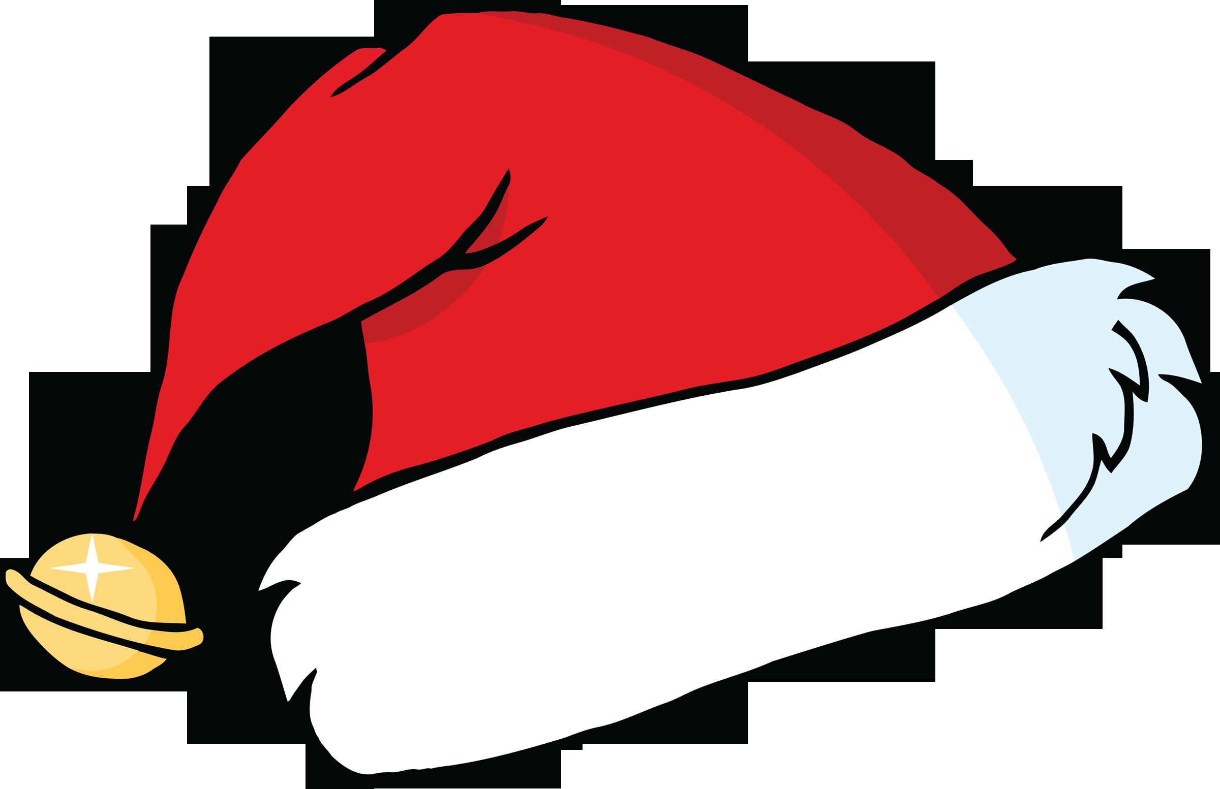 Santa hat pics clipart
