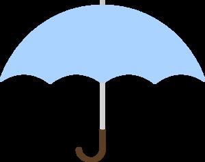 Turquoise umbrella clip art at vector clip art online