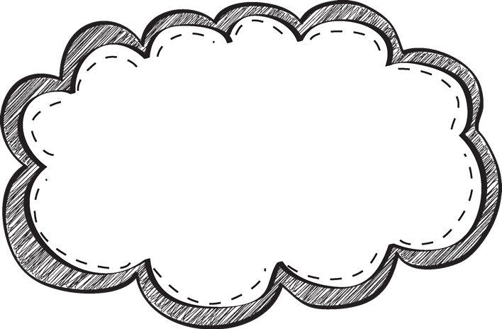 Frame border clip art black and white clipart