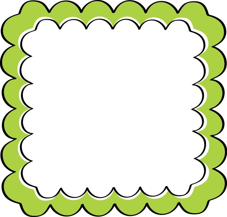 Frame education theme borders on school themes clip art and