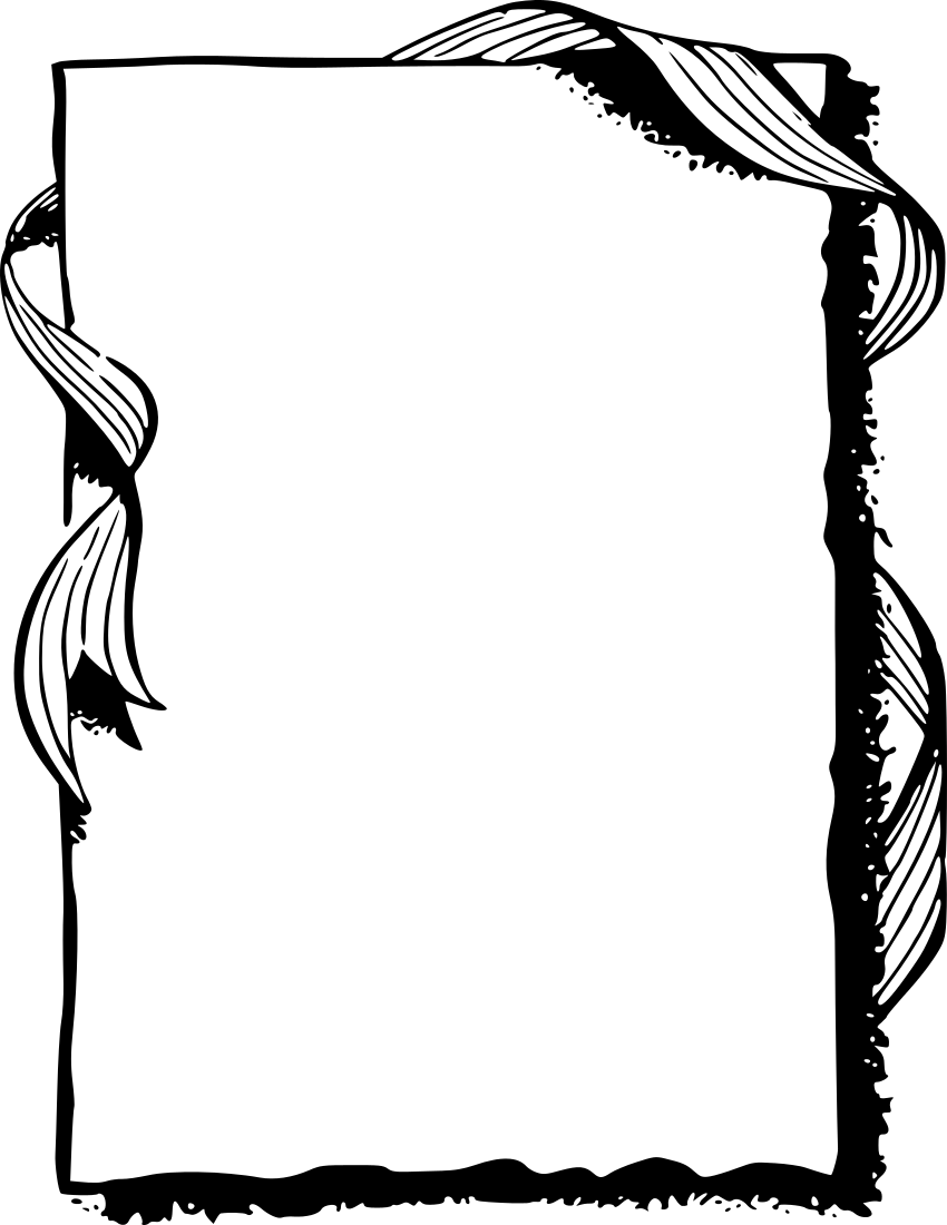 Frame ribbon edge clip art download