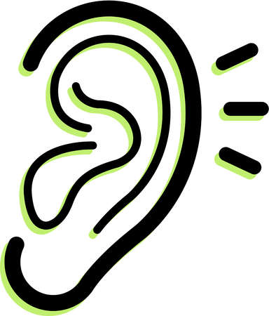 Free clipart ear clipart