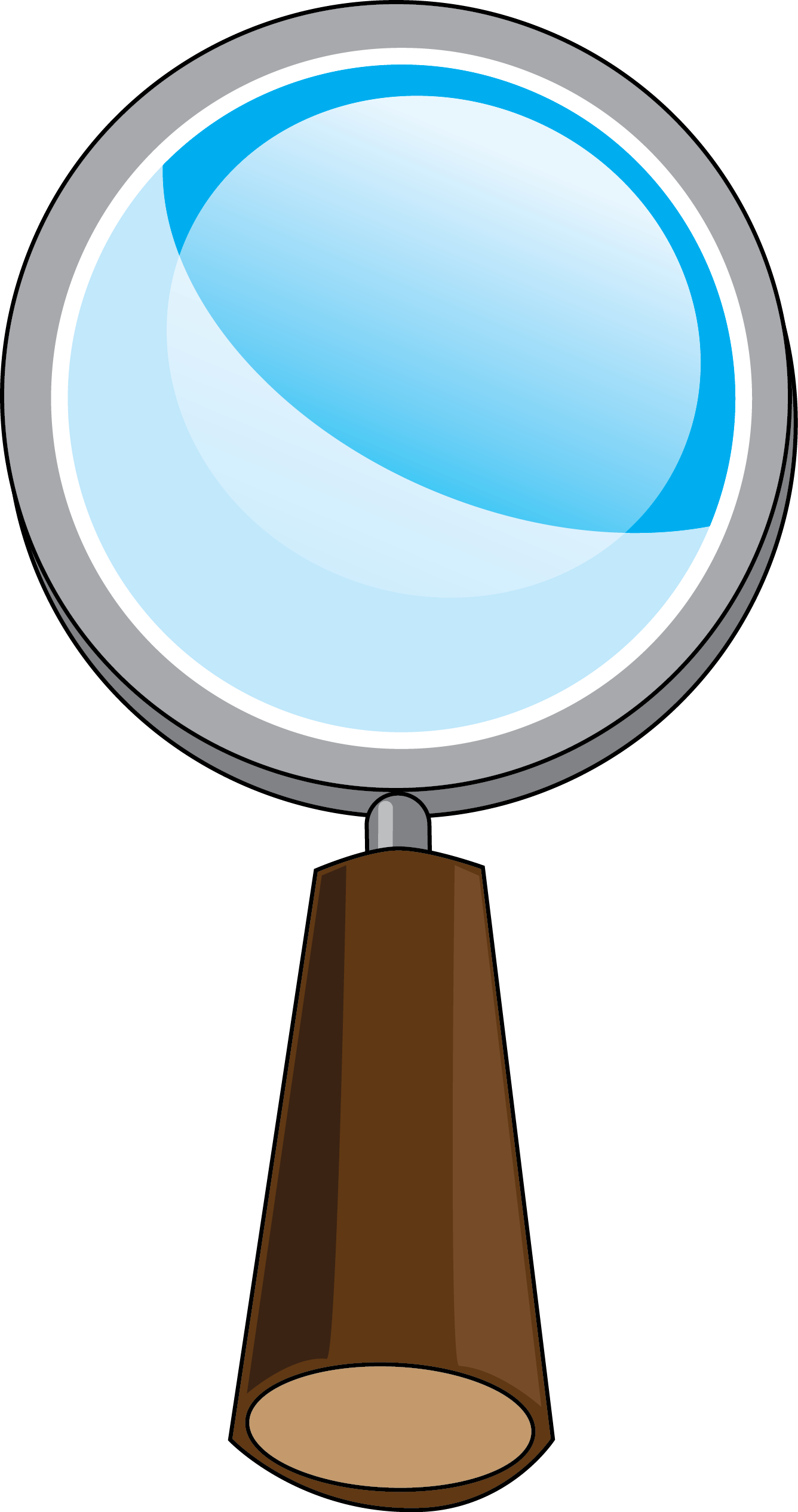 Magnifying glass in progress clipart clipart image 12018 magnifying glass in progress clipart clipart voltagebd Gallery