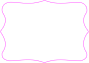 Pink tag frame clip art at vector clip art online