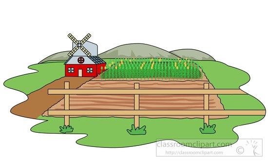 Farm clip art image #12160