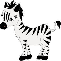 Baby zebra icon clipart image clipart clipart