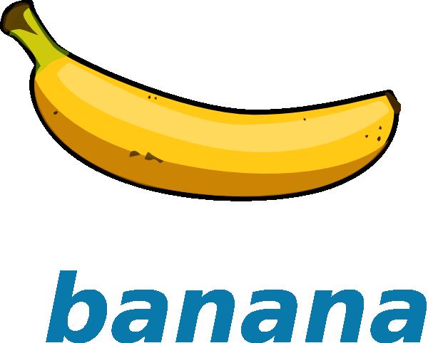 Banana clipart 2