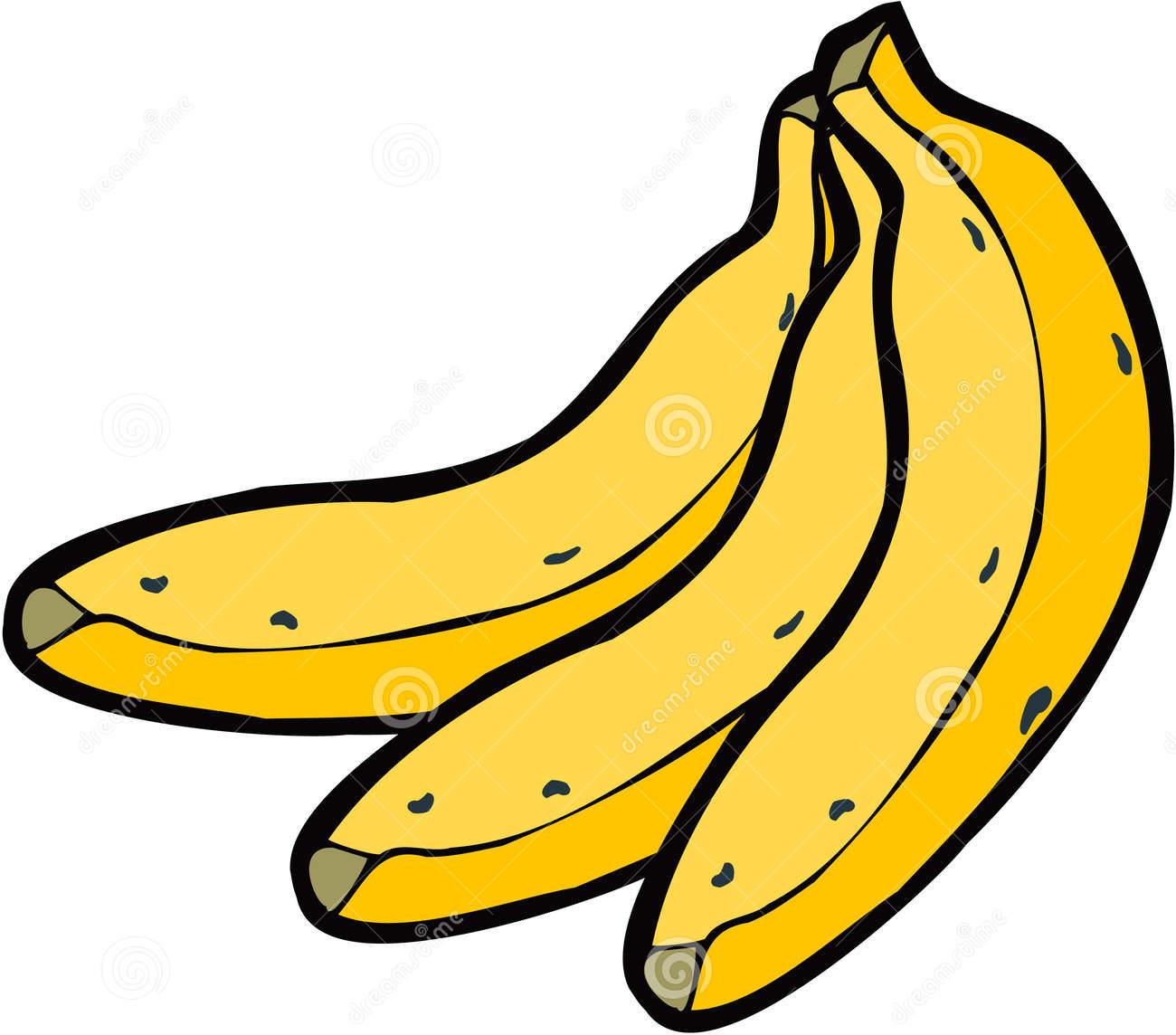 Banana clipart 4