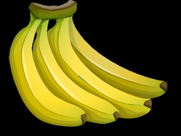 Banana clipart 8
