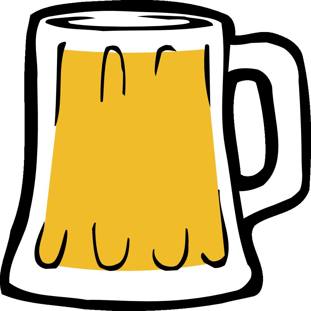 Beer in mug clip art clipart