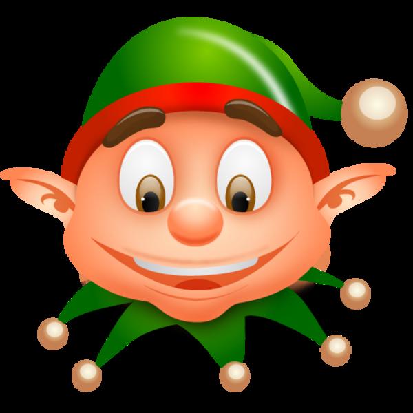 Christmas elf clip art clipart