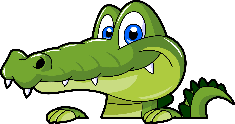 Clip art alligator clipart