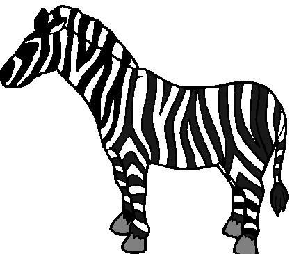 Free zebra clip art clipart