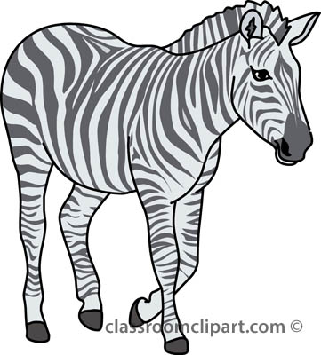 Free zebra clipart clip art pictures graphics illustrations 2