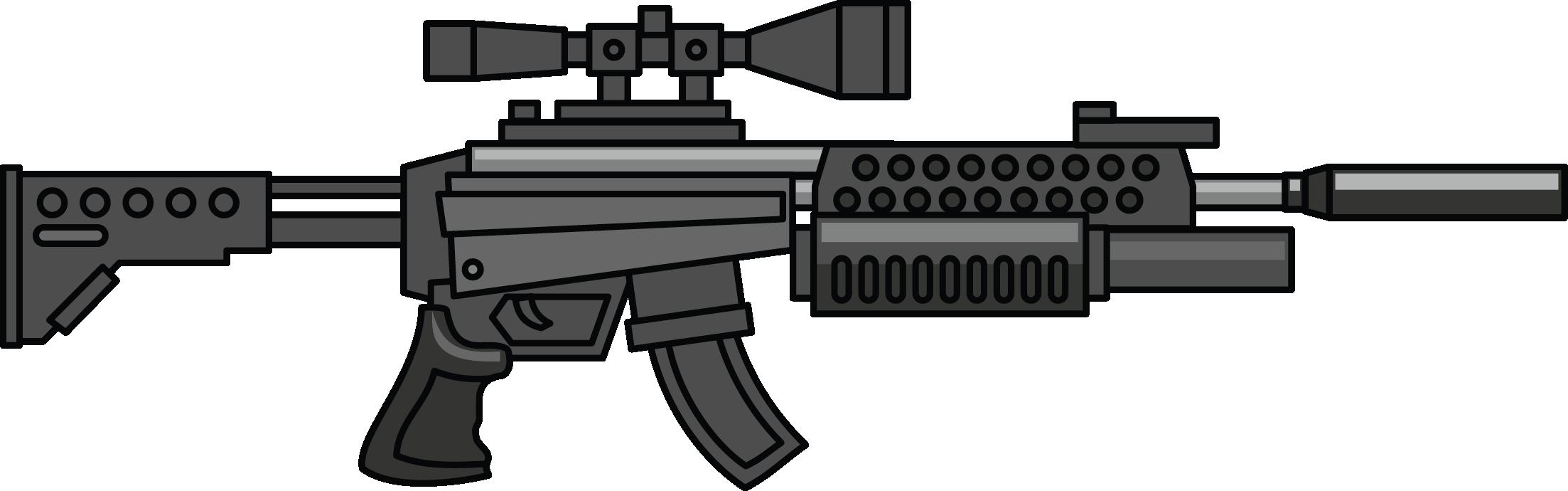 Gun military clip art