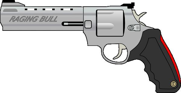 Pistol gun clip art free vector