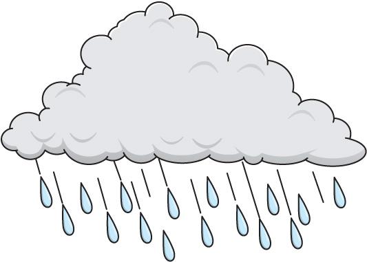 Rain clipart 3