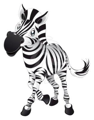 Zebra cute clipart