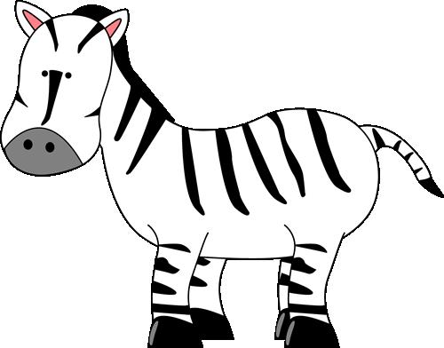 Zebra for letter clip art zebra for letter image