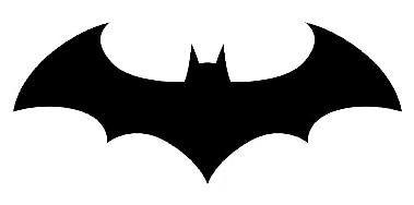 Batman logo clipart silhouettes batman logo