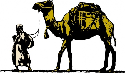 Camel clip art vector camel graphics