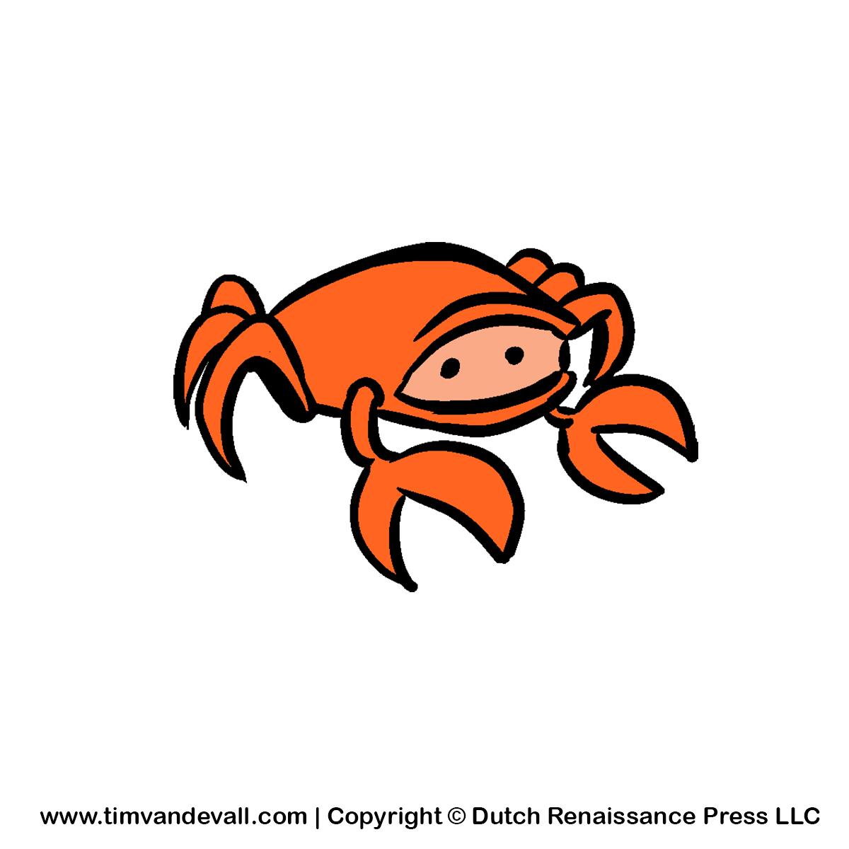 Cartoon crab clipart free clip art images