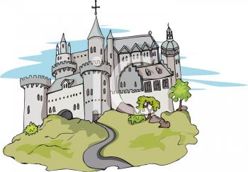Castle clipart 5