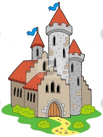 Castle image clipart