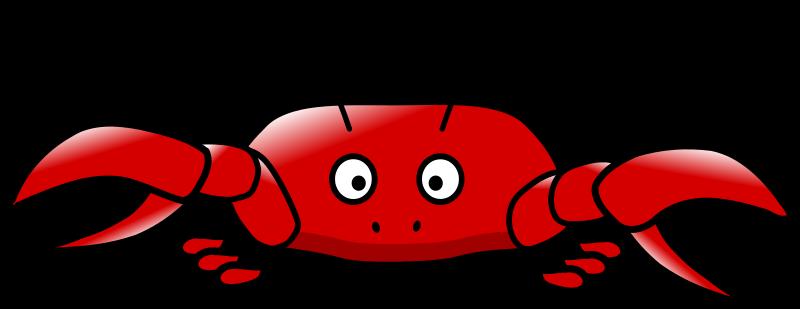 Crab clipart 6