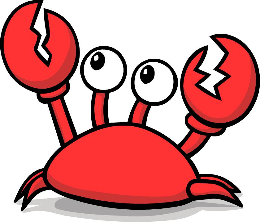 Crab clipart 8