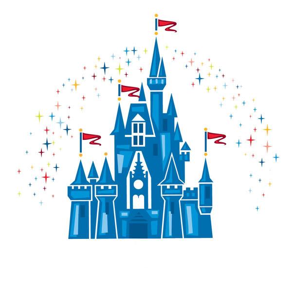 Disney castle clipart 3