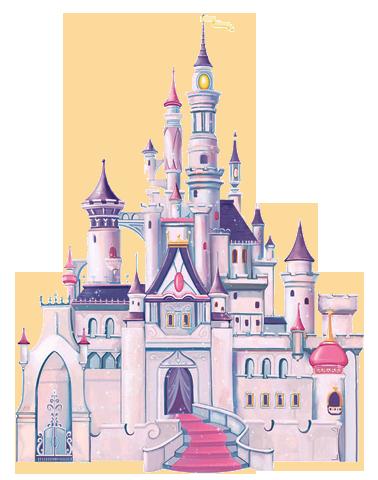 Disney castle clipart 4