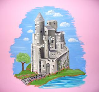 Disney castle clipart 6