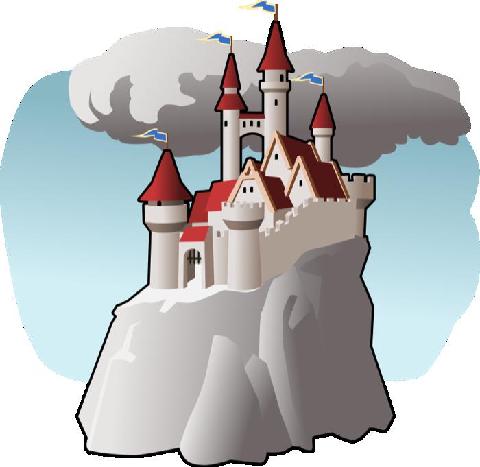 Free castle clipart 2