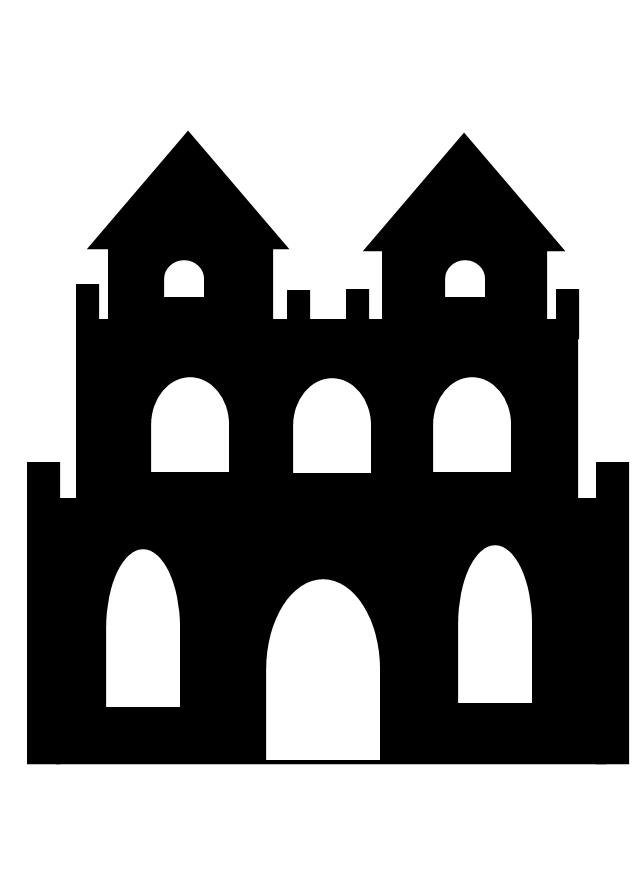 Free clipart images haunted castle clip art