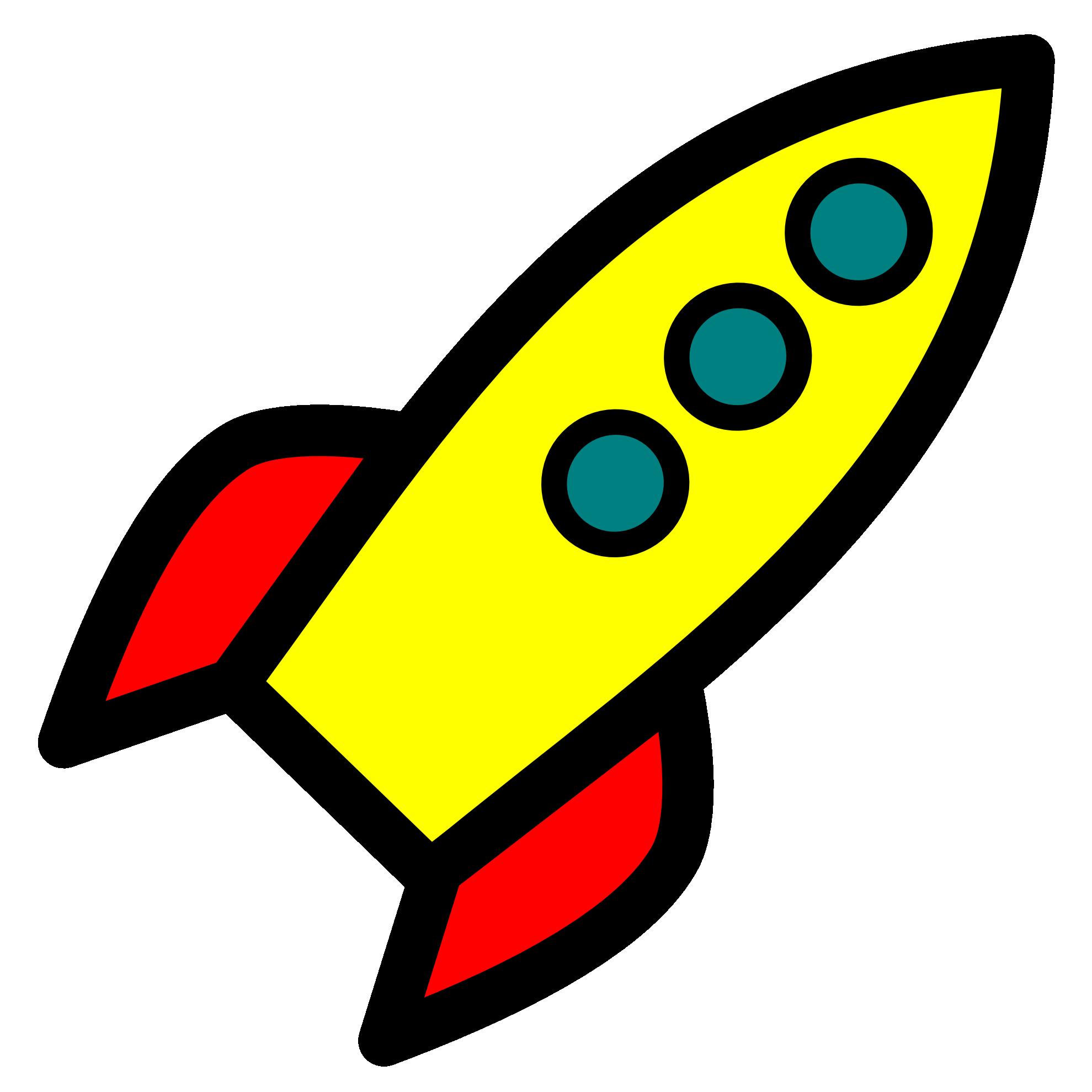 Rocket clip art clipart