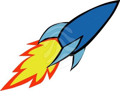 Rocket clip art free 2