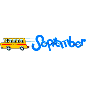 September clip art clipart