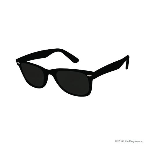 Sunglasses alex loves rayban clip art
