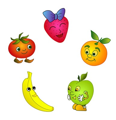 Animated fruit clipart