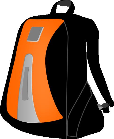 Backpack clip art at vector clip art