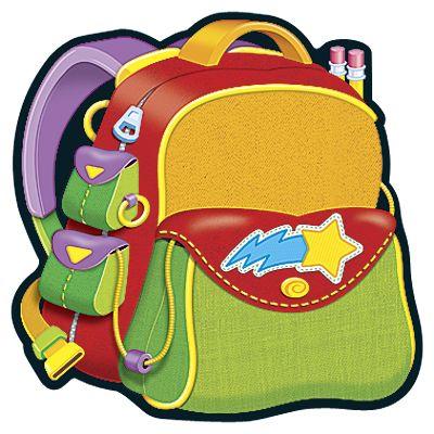 Backpack scrap books backpacks clip art