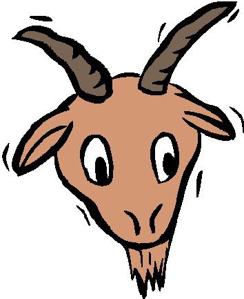 Boer goat clip art 3