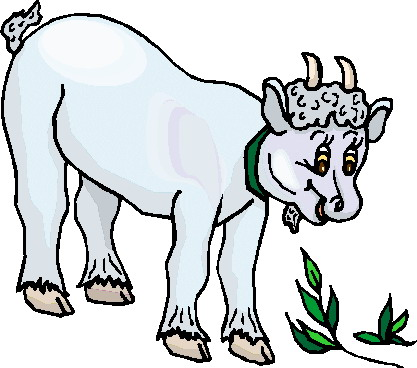 Boer goat clip art 4