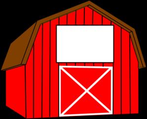 Clip art red barn clipart