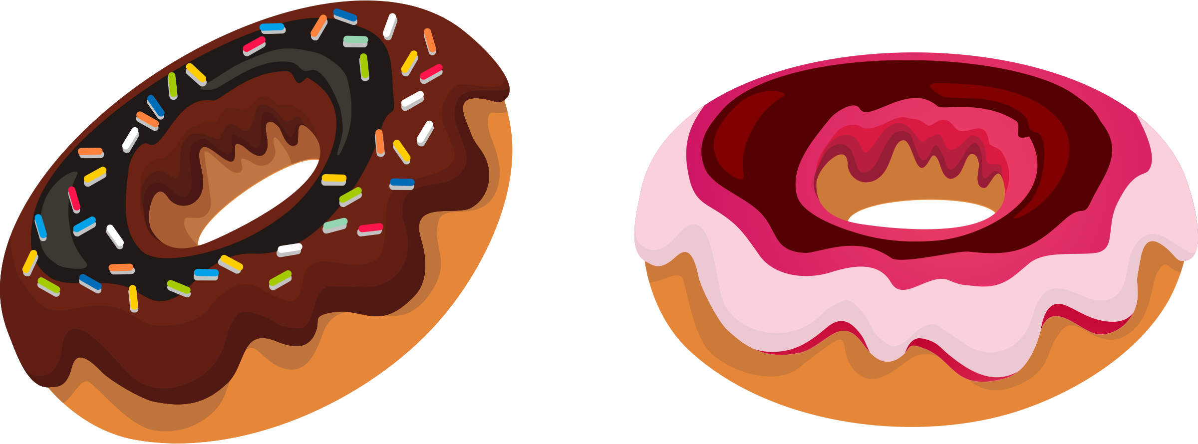 Donut border clipart free clip art images